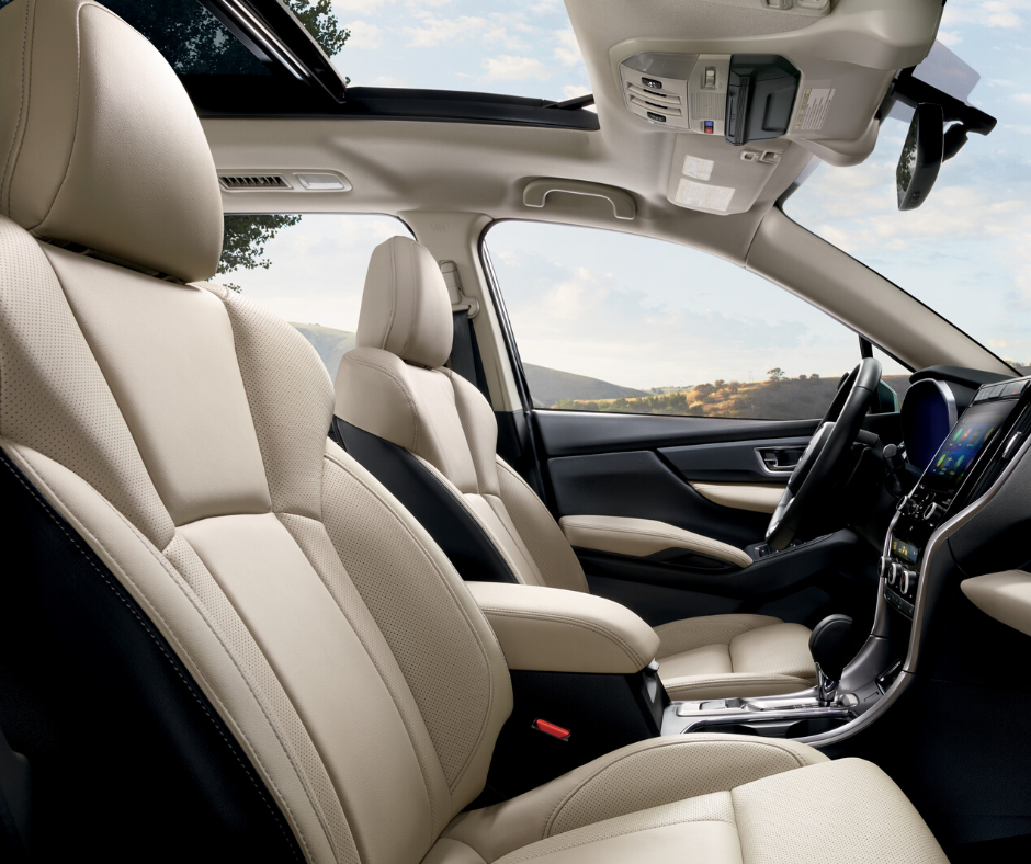 inside front look at the Subaru Ascent SUV