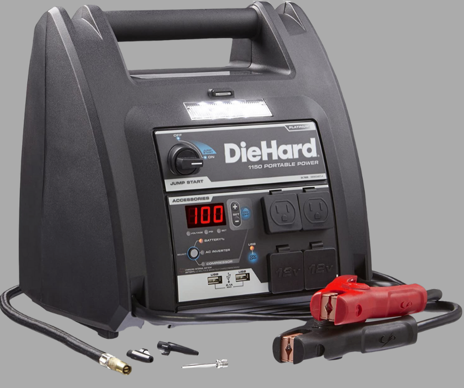 DieHard Jump Starter with Air Compressor