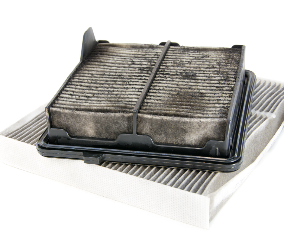Engine air filter and cabin filter