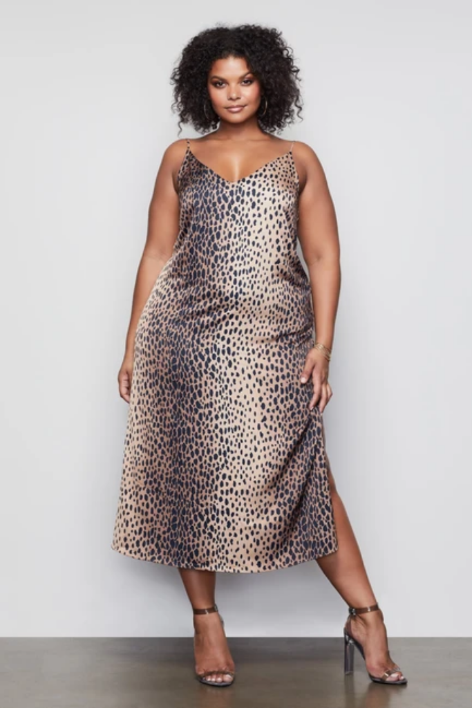 Leopard Print Good American Dress