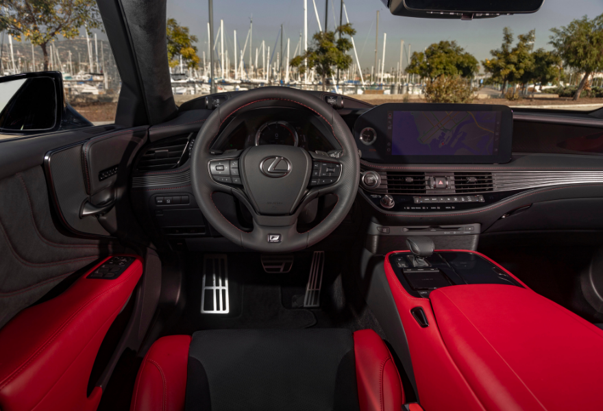 2021 Lexus LS 500 Hybrid - F Sport